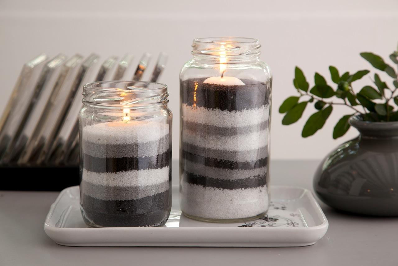 10 ideias para usar vidros de conserva na decoraç u00e3o # Decoração De Vidros De Conserva Com Eva